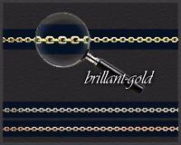 Halskette Collier 585 Gold Goldkette Karree-Kette, massiv Schmuck hochwertig NEU