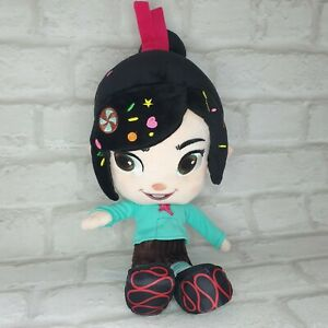 """Disney Store Official Princess Vanellope Wreck It Ralph Soft Plush Toy Doll 14"""""""