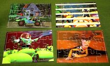 TOY STORY 1995 JIG SAW Cards x 4 BUZZ, WOODY,  SKYBOX