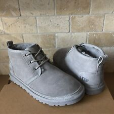 UGG Neumel Seal Suede Sheepskin Warm Ankle Boots Booties Shoes Size 11 Women
