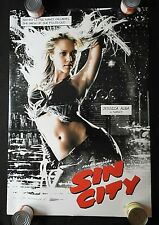 "2005 ""SIN CITY"" 27"" x 41"" Movie Poster JESSICA ALBA Bruce Willis Mickey Rourke"