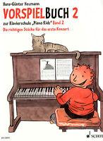 Klavier Noten Schule : VORSPIELBUCH 2 (zur Klavierschule Piano Kids 2) - leich
