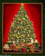 Woodland Hellblau Marmoriert Patchworkstoffe Stoffe Weihnachten Weihnachtsstoffe