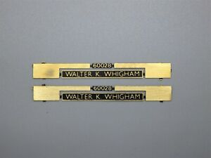 Modelmaster/Jackson Evans OO Gauge Locomotive Nameplate - 60028 Walter K Whigham