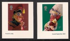 Great Britain 2001 Punch and Judy zelfklevend  postfris/MNH