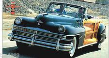 Chrysler Town & Country Spec Sheet / Brochure: 1946,1947,