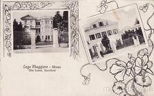 * STRESA - Lago Maggiore - Ville Comm.Vercelloni 1911