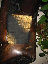 Black with Gold detail Passport Bag