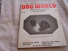 Dog World Magazine June 1968 Official Standards 132 Breeds