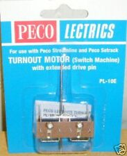 Peco PL-10E Turnout/Point Motor- Ext/Pin (Switch Machine) NEW  (Model Railways)