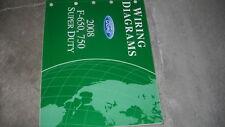 2008 Ford F-650 F-750 Super Duty Truck Wiring Manual