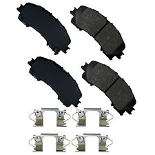 Disc Brake Pad Set-ProACT Ultra Premium Ceramic Pads Front Akebono ACT1736