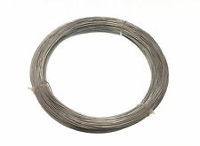 NEW GALVANISED GARDEN FENCE WIRE 1 MM 80 METRES - 6 rolls each 0.5kg in weight