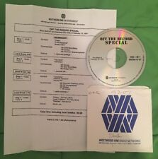 Silverchair Off The Record Special Westwood One Radio # 97-07 with Cue 2/10/97