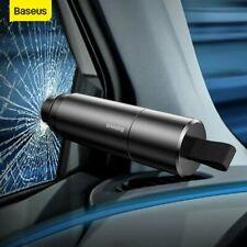 Baseus Coche Martillo De Seguridad emergencia cortador de cinturón de ventana Triturador De Cristal Herramienta De Escape