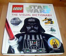 LEGO Star Wars The Visual Dictionary Hardback Book with Minifigure