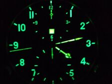 AChS-1 Military AVIATION COCKPIT Clock USSR Russian