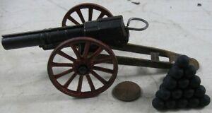 Vintage Cast Iron Field Artillery Cannon #2