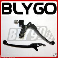 BLACK Clutch + Brake Lever Handle Set 110cc 125cc 150cc PIT PRO TRAIL DIRT BIKE