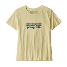 Patagonia T-Shirt Pastello P-6 Logo Organico Crew