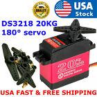 DSSERVO DS3218MG 20kg 180° Metal Digital Steering Servo For RC Baja Car Robot US