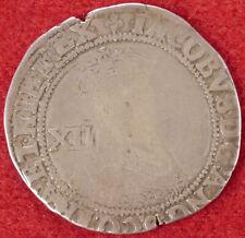 GB Shilling King James I mm.Lis (1604-05) 2nd Bust (F2410)