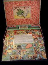 RARE ancien jouet coffret jeu de l'oie N.K ATLAS PARIS 1910/20 Made in France