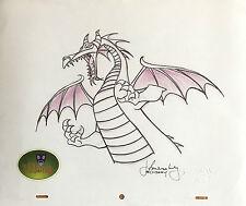 Walt Disney Sleeping Beauty Dragon Maleficent, orig. Zeichnung (Disney Villains)