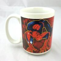 Advertising Marvel Heroes Coffee Mug 2006 Sherwood Comic Captain America Superheroes