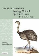 Charles Darwin's Zoology Notes and Specimen Lists from H. M. S. Beagle by...