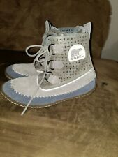 Sorel Womens Moc Moccasin Boots Size 6 Boot Shoe New