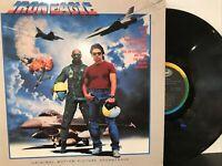 Iron Eagle (Original Motion Picture Soundtrack) LP 1986 Capitol – SV-12499 VG/VG
