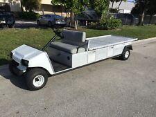 99 Club Car Carryall 8 gas Utility golf Cart Industrial Burden Carrier long bed
