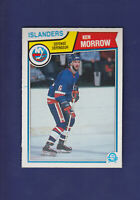 Ken Morrow 1983-84 O-PEE-CHEE OPC Hockey #13 (NM+) New York Islanders