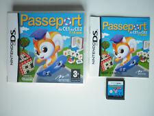 Passeport du CE1 au CE2 Jeu Vidéo Nintendo DS