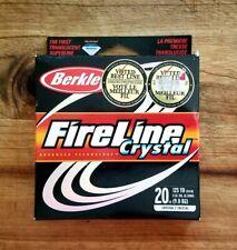 Berkley Fireline Crystal  Fishing Line (20 lb/125 yds) - New