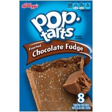 NEW SEALED POP TARTS FROSTED CHOCOLATE FUDGE 14 OZ TOASTER PASTRIES
