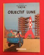 Aventuras Tintin Lente Lune 16C1 Casterman 1975/76 en Buen Estado Bd Banda Comic