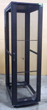 42u Server Rack Network Cabinet AFCO T-Series on Wheels- Deployed Not Used No SP