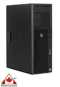 HP Z420 Workstation Desktop Computer PC Intel Xeon 2.8GHZ 8GB 1TB HDD