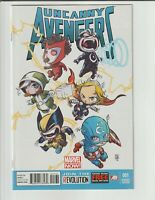 Uncanny Avengers #1 Skottie Young variant  Marvel (👀 PHOTO SCANS)