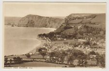 Devon postcard - Sidmouth from Salcombe Hill