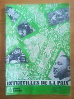 Jeunes Témoins revue jeunes chrétiens N°5 1977 - Inter-villes de la paix