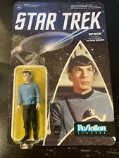 "SPOCK ReAction Super7 STAR TREK WAVE 1 Retro 3.75"" Action Figure Funko"