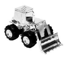 More details for personalised engraved silver-plated digger bank money box