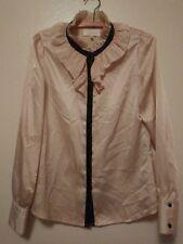 Whitney Port ruffled blouse.