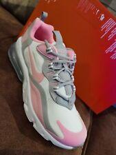 Nike Air Max 270 React BQ0103-104 White Grey Pink Womens Trainers UK Size 5