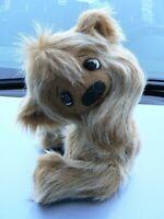 """OOAK Handmade Stuffed Teddy Bear 9"""". Made from craft long fur. NEW."""