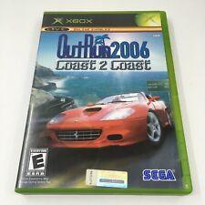 OutRun 2006 Coast 2 Coast Xbox Game Complete in Box CIB