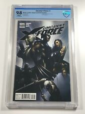 Uncanny X-Force #1 CBCS 9.8 - 1:25 Clayton Crain Variant Wolverine Psylocke CGC